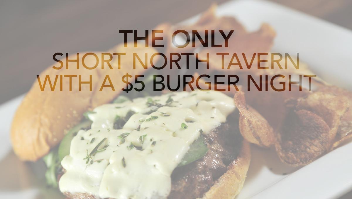 Short North Tavern Food Menu